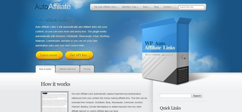 Wp auto affiliate link cloaking plugin