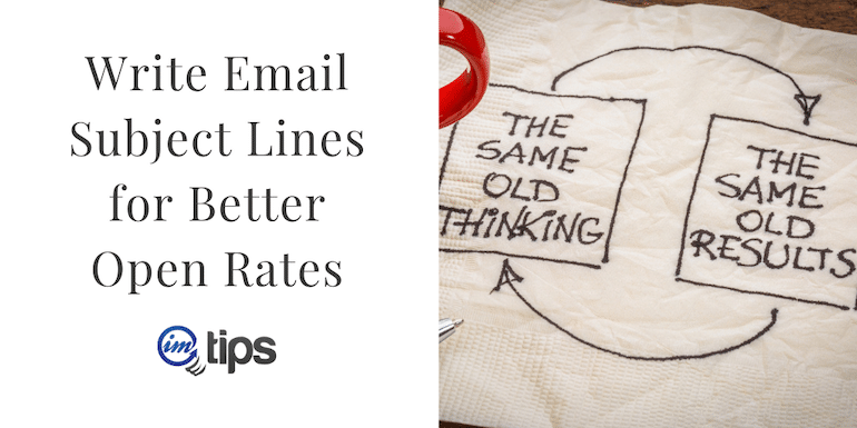 How to Write Email Subject Lines for Better Open Rates?