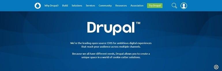 Drupal WordPress Alternative