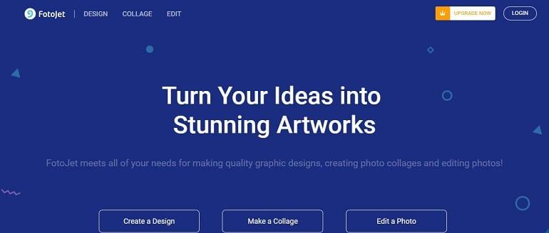 FotoJet image editing tool