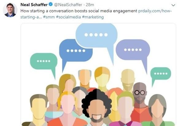 Neal schaffer twitter account