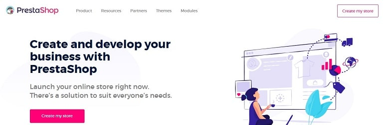 PrestaShop eCommerce cms