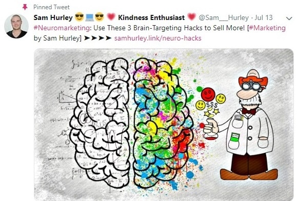 Sam hurley twitter account