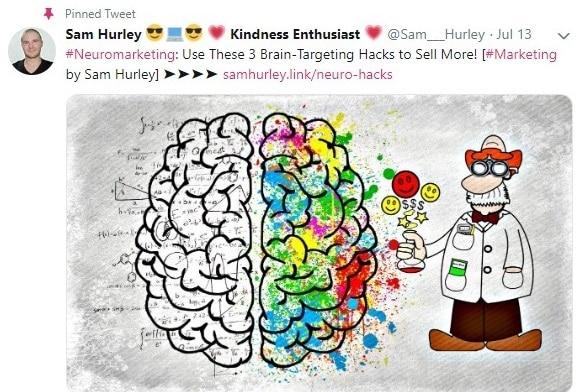 Sam hurley twitter account