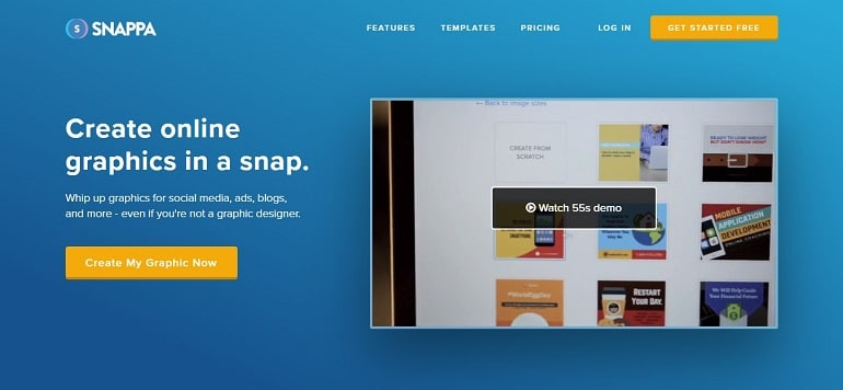 Snappa as an alternative to canva