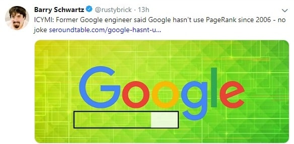 barry schwartz rustybrick twitter account