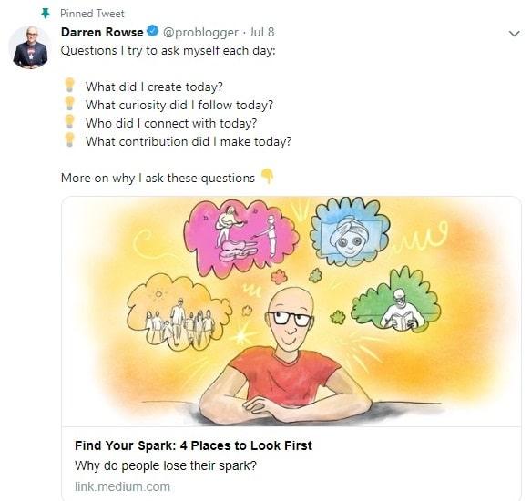 darren rowse problogger twitter account