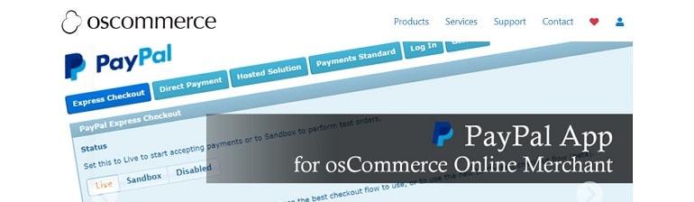 osCommerce eCommerce cms