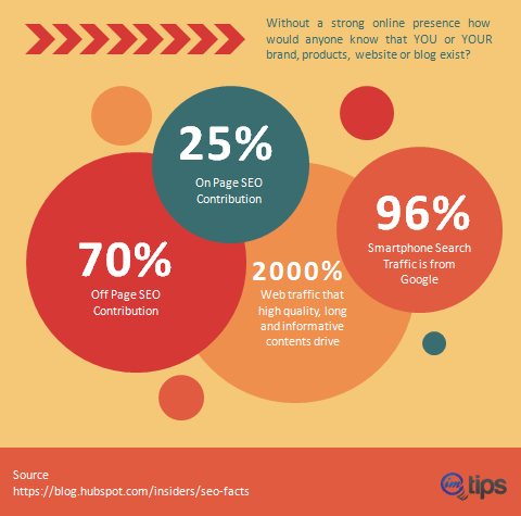 seo facts infographics for imtips.co 1