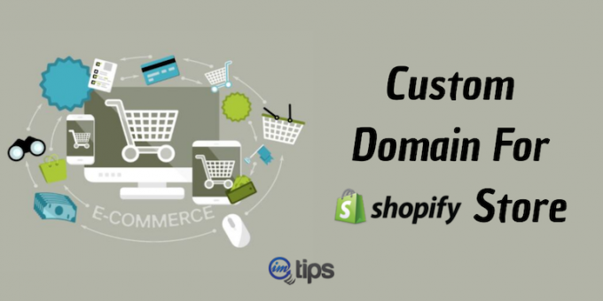 custom domain shopify store