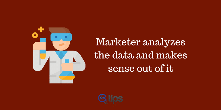 marketer as data scientist