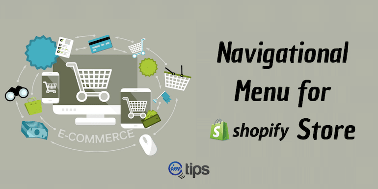 How to Setup Navigation (Menu) in Shopify?