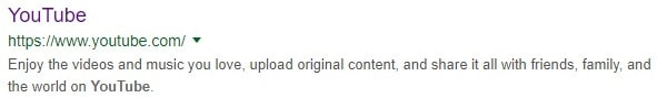 youtube meta des