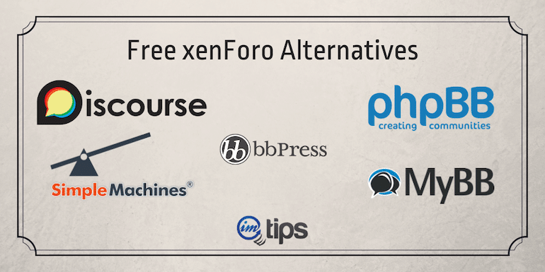 Free xenForo Alternatives – 9 Popular Open-Source Competitors