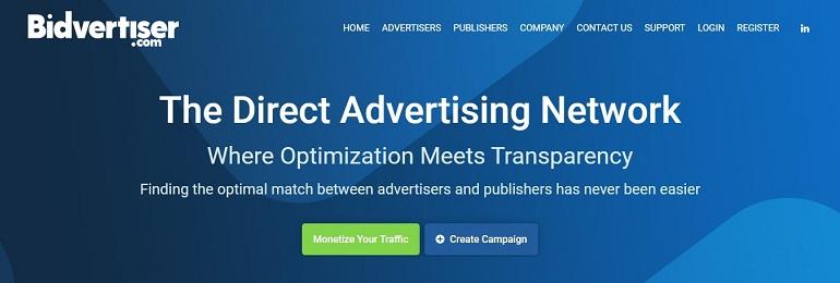 BidVertiser - Direct Advertising Network