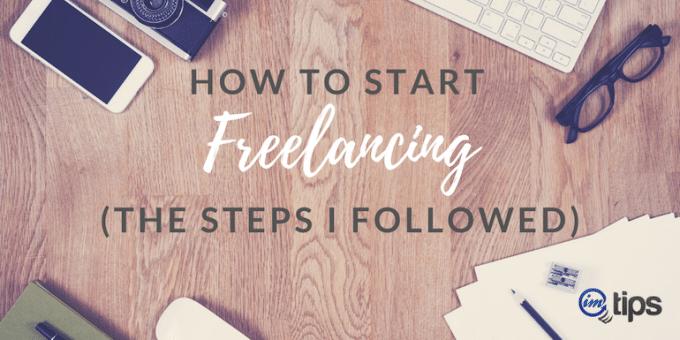 start freelancing