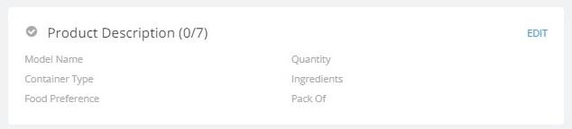 Product description in flipkart
