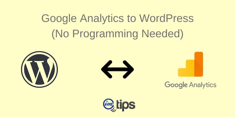 How to Add Google Analytics to WordPress Blog?