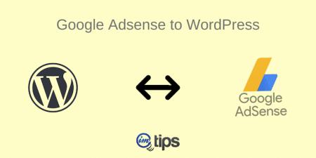 Google Adsense to WordPress