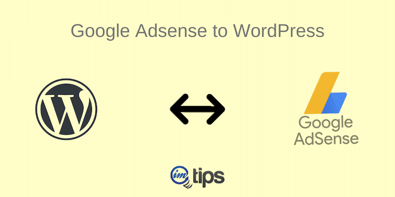 Google Adsense to WordPress