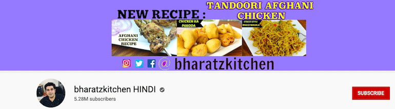 bharatz kitchen hindi Youtube