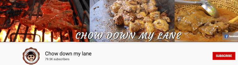 chow down my lane indian recipe blogger youtube