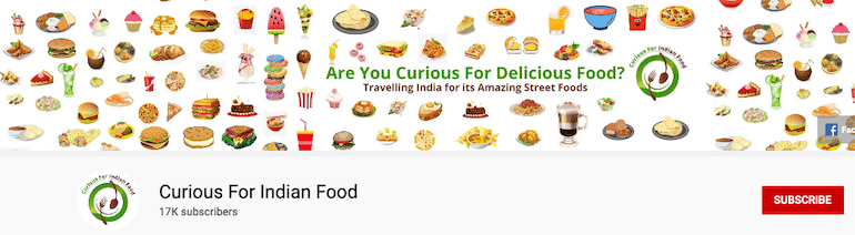 curious for indian food