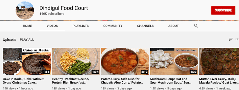 dindigul food court youtube