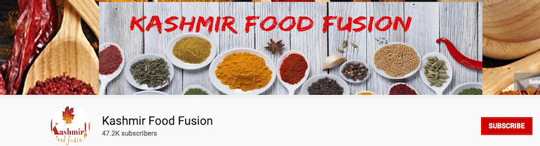 kashmir food fusion
