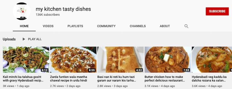 my kitchen tasty dishes