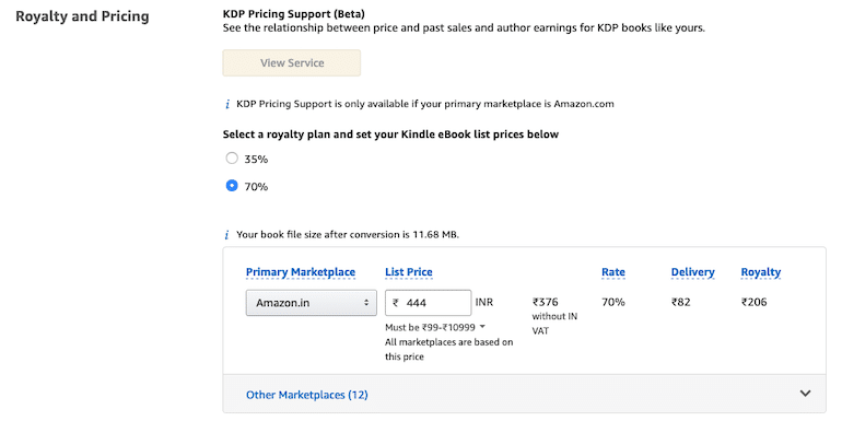 How an Indian Author can Self-Publish an eBook on KDP
