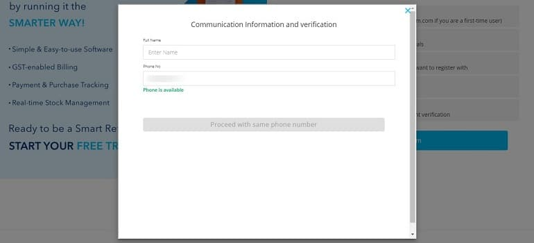 5 Communication Information and verification