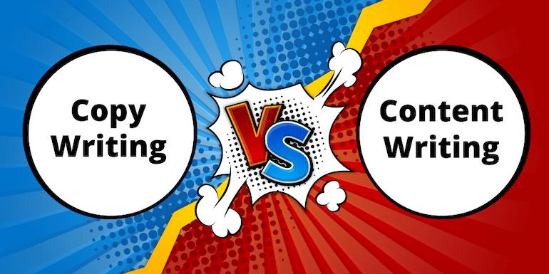 Content Writing vs Copywriting – What You Should Be Writing
