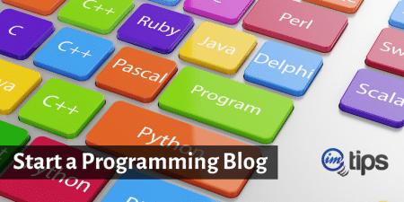 start development blog