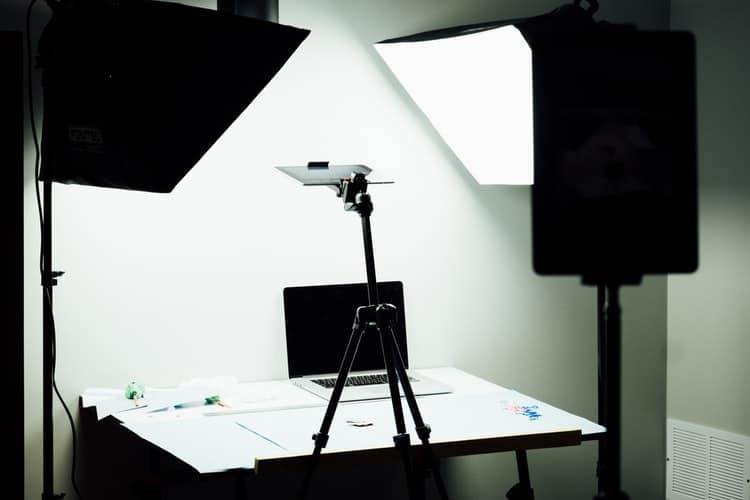 studio light setup for eCommerce Product Catalog