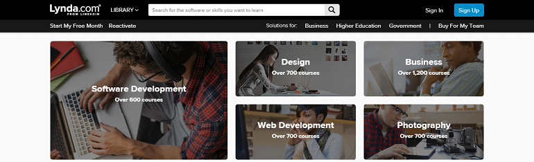 Lynda Online Courses Classes Training Tutorials