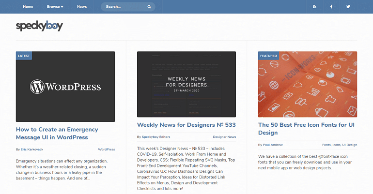 Speckyboy Design Magazine - Design News Resources Inspiration