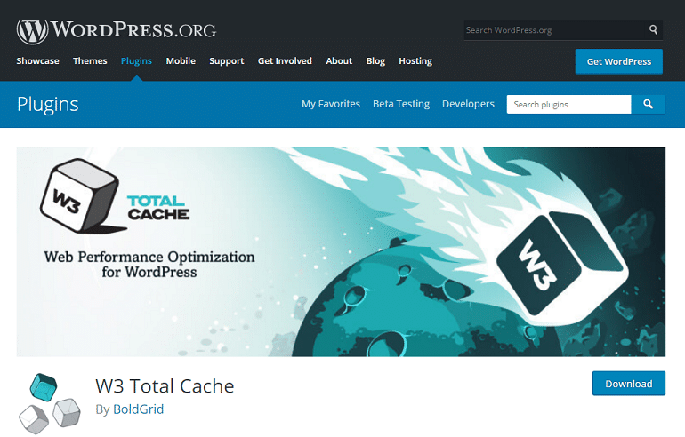 W3 Total Cache – WordPress plugin WordPress org