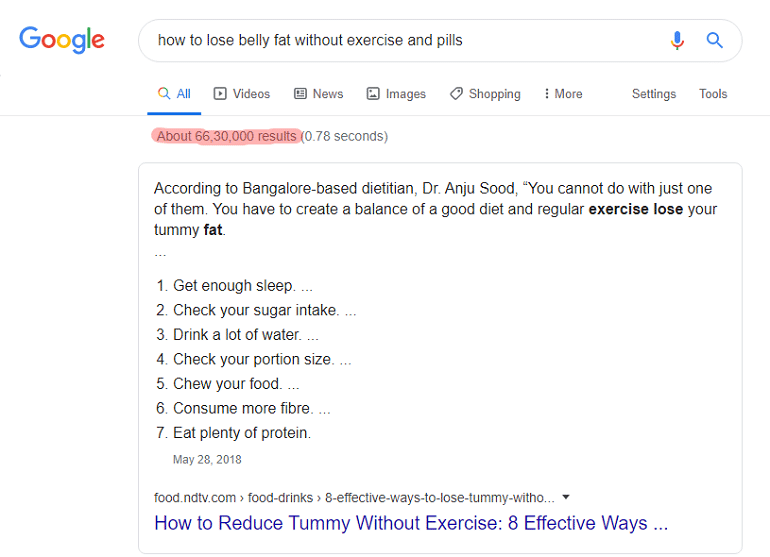how to lose belly fat without exercise and pills - Google Search