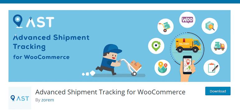 Advanced Shipment Tracking for WooCommerce – WordPress plugin