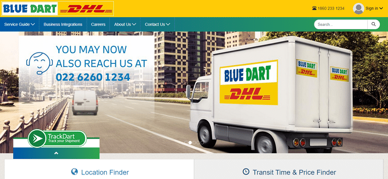 Blue Dart Express Limited logistics company