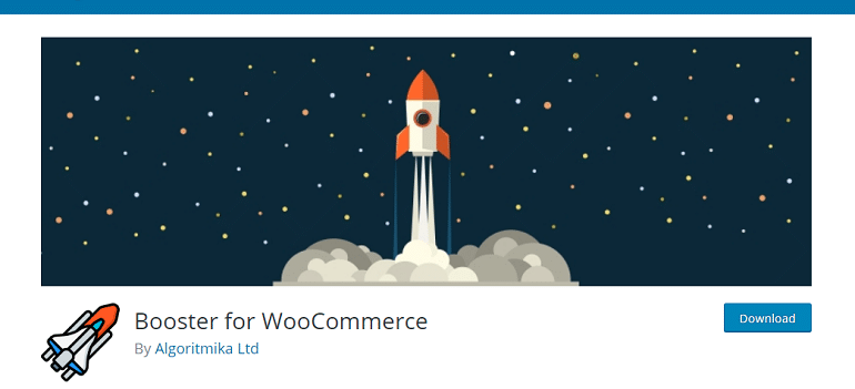 Booster for WooCommerce – WordPress plugin