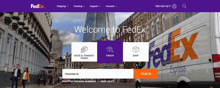 FedEx express delivery courier shipping services india