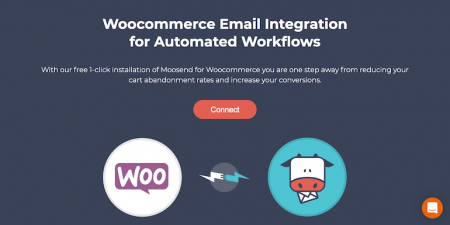 Connect Moosend Woocommerce