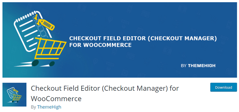 checkout field editor checkout manager woocommerce wordpress plugin