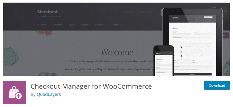 checkout manager woocommerce wordpress plugin