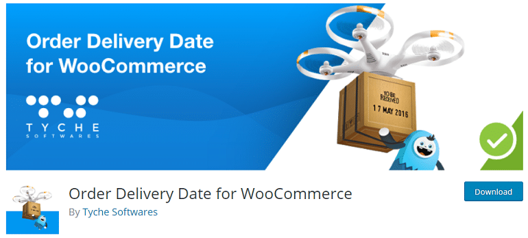 order delivery date woocommerce wordpress plugin