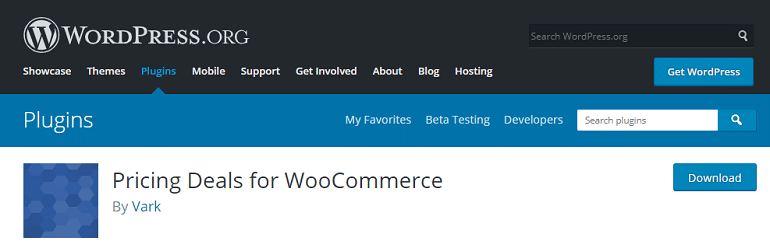 pricing deals for woocommerce wordpress plugin