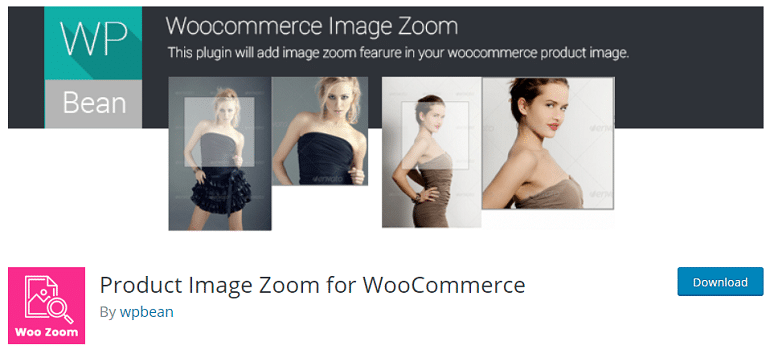 product image zoom woocommerce wordpress plugin