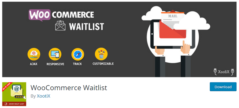 woocommerce waitlist wordpress plugin
